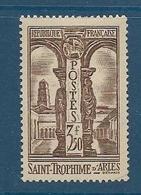 Timbres Neufs *  France, N°302 Yt, Cloître De St Trophime à Arles,  Charnière - Nuevos