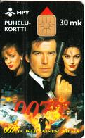 FINLAND - James Bond 007, HPY Telecard, CN : 000083, Tirage 7500, 12/95, Used - Finland