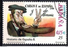 Spain 2001 - School Stamps - Spanish History - 1931-Hoy: 2ª República - ... Juan Carlos I