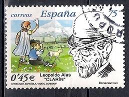 Spain 2001 - The 100th Anniversary Of The Death Leopoldo Alas Y Urena, 1852-1901 - 1931-Hoy: 2ª República - ... Juan Carlos I