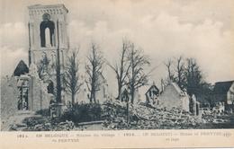 CPA - Belgique - Ruines Du Village De Pervyse - Diksmuide