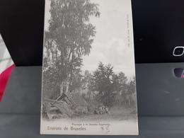 Les Environs De Bruxelles Paysage à La Grande  Espinette Villas Obl 1902 - Rhode-St-Genèse - St-Genesius-Rode