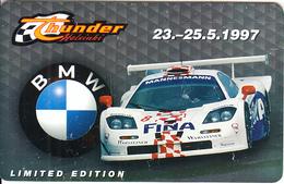 FINLAND - Thunder/BMW, HPY Telecard, CN : 000119, Tirage 2000, 05/97, Used - Cars
