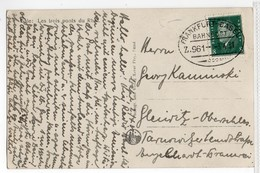 Germany TPO Frankfurt- Basel 1931 - Covers & Documents