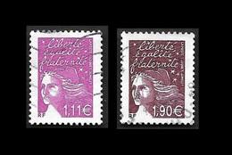 FRANCE  2003 -  YT  3574 Et 3575  - Oblitérés - Used Stamps