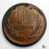 Japan - 10 Yen - 1973:Year 48 - Japón