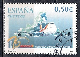 Spain 2002 -  The 75th Anniversary Of IBERIA Airlines - 1931-Hoy: 2ª República - ... Juan Carlos I
