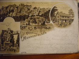 NONNENFELSEN     1899 - Germania