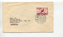 BRASIL - VII JOGOS INFANTIS, JUEGOS INFANTILES, CHILDISH GAMES, JEUX D'ENFANTS. YEAR 1957 ENVELOPE SPC CIRCULE - LILHU - Juegos