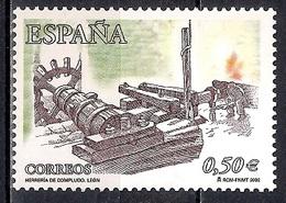 Spain 2002 - Compludo Forge, Leon    MINT - 1931-Hoy: 2ª República - ... Juan Carlos I