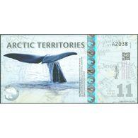TWN - ARCTIC TERRITORIES (private Issue) - 11 Polar Dollars 2013 Polymer - Prefix A UNC - Banconote