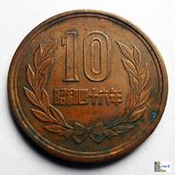 Japan - 10 Yen - 1971:Year 46 - Japón