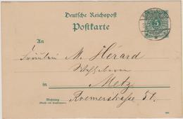 Saarlouis - 1891 - Allemagne