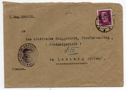 Germany Mittweida Wafer 1932 - Covers & Documents