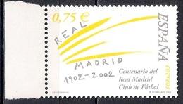 Spain 2002 - The 100th Anniversary Of The Foundation Of Real Madrid Football Club   MINT - 1931-Hoy: 2ª República - ... Juan Carlos I