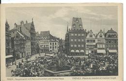 TREVES (  ALLEMAGNE  ) PLACE DU MARCHE ET MAISON ROUGE - Germany
