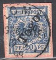 Togo Lome Fragment 19.9.1898 - Colonie: Togo