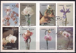 Spain 2002 - Flowers - Orquideas - Self-Adhesive - Booklet - 1931-Hoy: 2ª República - ... Juan Carlos I