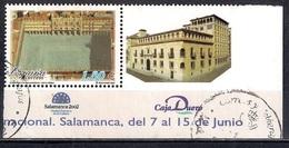 Spain 2002 - National Philatelic Exhibition EXFILNA 2002 - Plaza Mayor Salamanca From Block - 1931-Hoy: 2ª República - ... Juan Carlos I