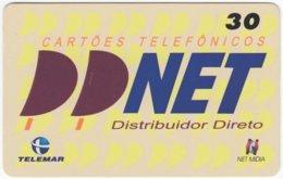 BRASIL I-580 Magnetic Telemar - Used - Brésil