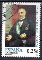Spain 2002 - The 200th Anniversary Of The Birth Of Alejandro Mon, 1801-1882 - 1931-Hoy: 2ª República - ... Juan Carlos I