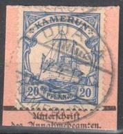 Kamerun Duala Cancel On Fragment 1913 - Kolonie: Kamerun