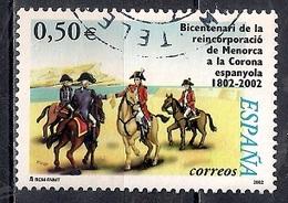 Spain 2002 - The 200th Anniversary Of The Reincorporation Of Menorca - 1931-Hoy: 2ª República - ... Juan Carlos I