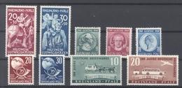 Franz. Zone Rh. Pfalz, ** Posten Aus 1949 (27848) - Französische Zone