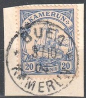 Kamerun Good Buea Cancel  On Fragment 1904 - Kolonie: Kamerun
