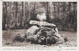 ST-AUBIN-DU-CORMIER - ( 35 ) - La Fontaine Minerale - France