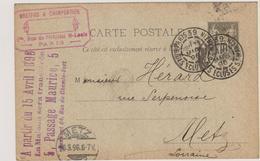 PARIS 39 - R. Des Ecluses St. Martin - Marcophilie (Lettres)