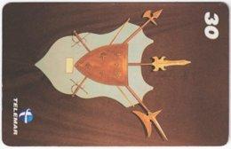BRASIL I-659 Magnetic Telemar - Culture, Historic Weapon - Used - Brésil
