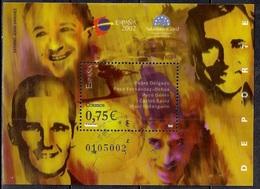 Spain 2002 - World Youth Philatelic Exhibition Espana 2002 Salamanca - Sports - 1931-Hoy: 2ª República - ... Juan Carlos I