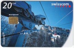 SWITZERLAND C-274 Chip Swisscom - Traffic, Cable Railway - Used - Switzerland
