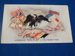 """MILITARIA  POLITIQUE  - """"Culture """" Allemande  - Rétribution -  German """" Kultur """" -  Retribution - Patrióticos"""