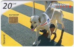 SWITZERLAND C-314 Chip Swisscom - Animal, Rescue Dog - Used - Suisse