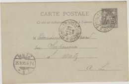 PARIS 15 - R. Des Saints Peres - Carte Commerciale - Marcophilie (Lettres)