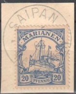 Marianen Perfect Saipan Fragment 1908 - Kolonie: Marianen