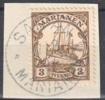 Marianen Perfect Saipan Fragment 1907 - Kolonie: Marianen