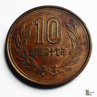 Japan - 10 Yen - 1972:Year 47 - Japón
