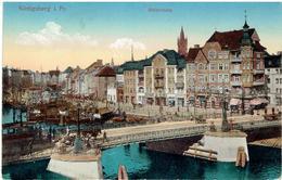 KÖNIGSBERG I. Preußen - Kaliningrad - Калининград - Holzbrücke - Feldpost 1915 - Ostpreussen