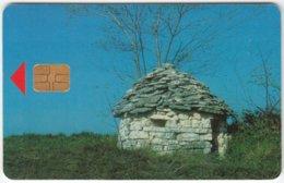CROATIA B-905 Chip HPT - Culture, Historic Building - Used - Croatia