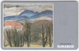 CROATIA B-937 Chip HPT - Culture, Painting - Used - Croatia