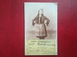 EXPOSITION INTERNATIONALE  UNIVERSELLE DE LIÈGE 1905 ABONNEMENT ENFANT  13 Ans VIEUX PAPIERS TICKETS D ' ENTRÉE - Tickets D'entrée