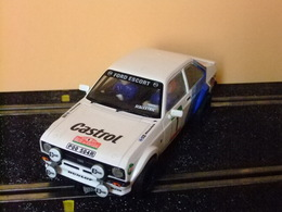 Scalextric SXC FORD ESCORT MK II RS 1800 Blanco - Circuitos Automóviles