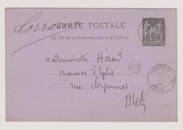 Meuse - Lacroix-sur-Meuse + OR - Marcophilie (Lettres)