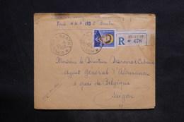 VIÊT NAM - Enveloppe En Recommandé De Bentre Pour Saïgon En 1953, Affranchissement Recto Et Verso (bloc De 10) - L 34224 - Viêt-Nam