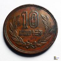 Japan - 10 Yen - 1968:Year 43 - Japón