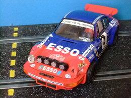 Scalextric SXC PORSCHE CARRERA RS Azul / Rojo - Circuitos Automóviles
