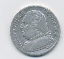 5 Francs 1814 Atelier Marseille - J. 5 Francs